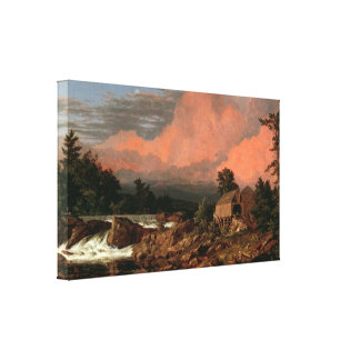 "Church's ""Rutland Falls"" canvas print"