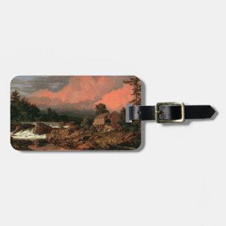 """Church's """"Rutland Falls"""" custom luggage tag"""