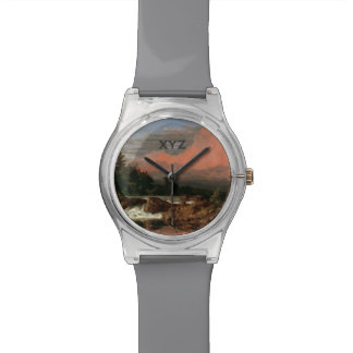 "Church's ""Rutland Falls"" custom monogram watches"