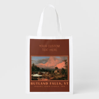 "Church's ""Rutland Falls"" custom reusable bag"