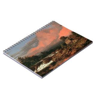 "Church's ""Rutland Falls"" notebook"