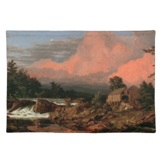 "Church's ""Rutland Falls"" placemats"