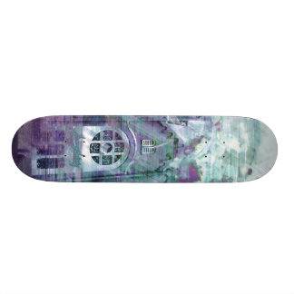 Church Splatters of Blues Skateboard