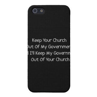 Church State Separation iPhone 5 Cover