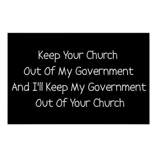 Church State Separation Posters