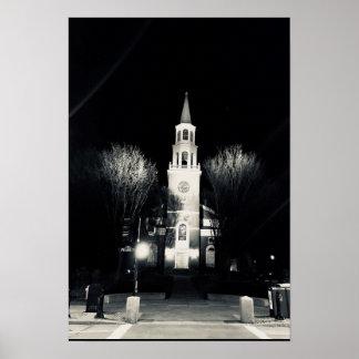 Church Street Burlington Vermont Poster