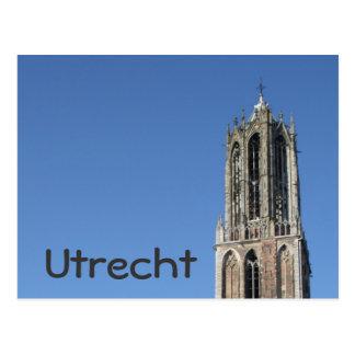 Church tower, Utrecht Postcard