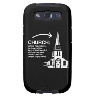 CHURCH - WHERE REPUBLICANS GO TO WORSHIP A LONG-HA GALAXY SIII CASE