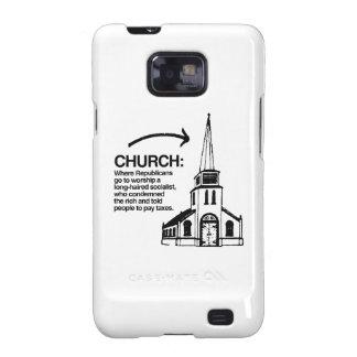CHURCH - WHERE REPUBLICANS GO TO WORSHIP A LONG-HA GALAXY S2 COVERS