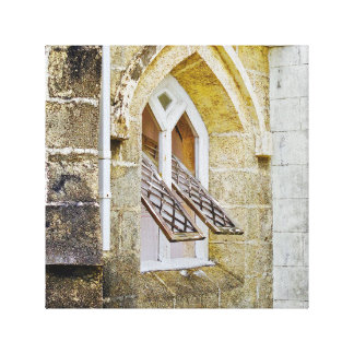 Church Window - Canvas Art - Barbados