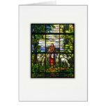 CHURCH WINDOW - EASTER LAMB CARD