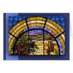 CHURCH WINDOW NOTE CARD