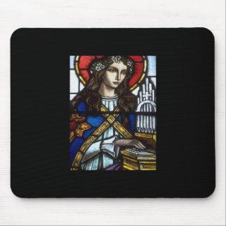 Church Windows 06 Mouse Pad