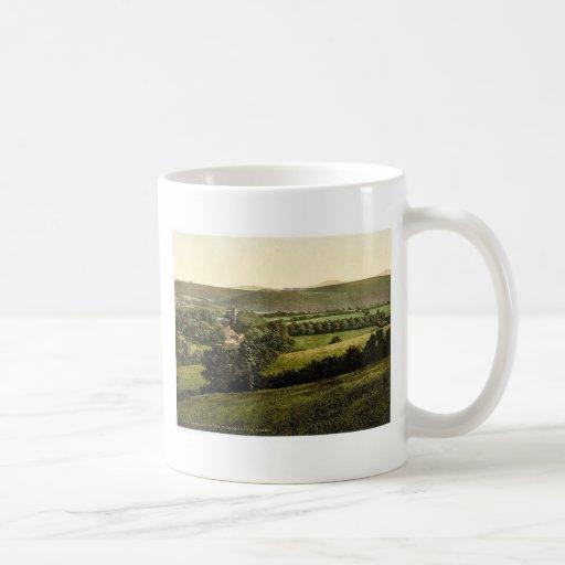 Church, Yes-Tor and Beacon, Okehampton, England cl Mugs