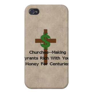 Churches Heart Money Cover For iPhone 4