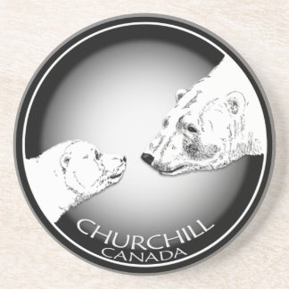 Churchill Canada Souvenir Coasters Churchill Gifts