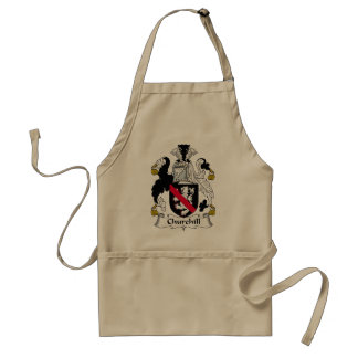 Churchill Family Crest Standard Apron