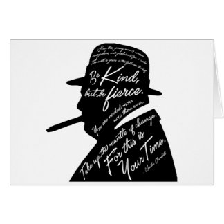 Churchill Greeting Card