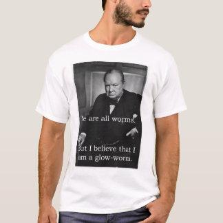 Churchill: I am a Glowworm T-Shirt