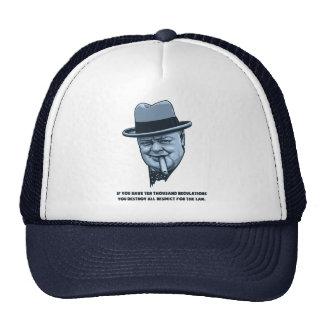 Churchill -Laws Hat