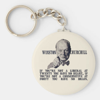 Churchill on Conservatives and Liberals Key Chains