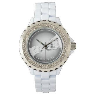 Churchill Polar Bear Watch Souvenir Wrist Watch