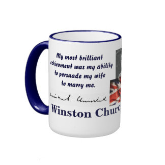 CHURCHILL RINGER MUG