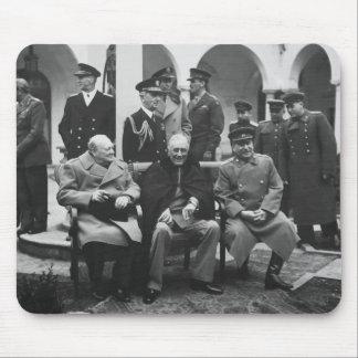 Churchill, Roosevelt, and Stalin Mouse Mat