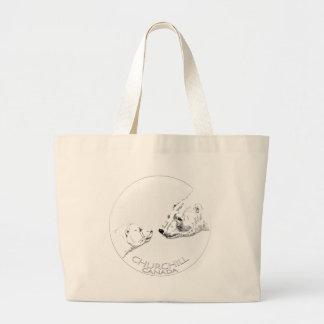 Churchill Souvenirs Polar Bear Art Shirts & Gifts Bag