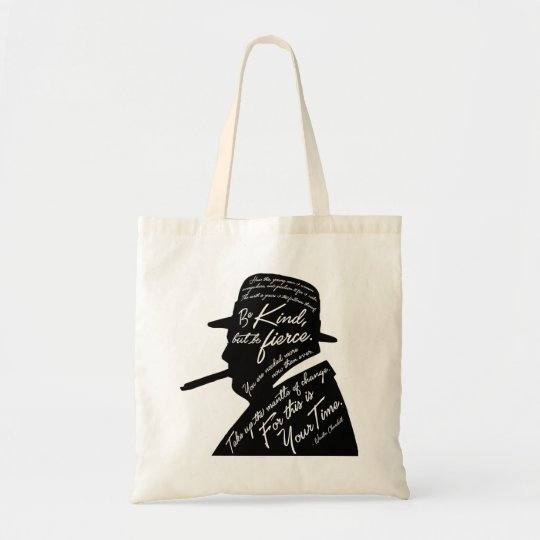 Churchill Tote Bag
