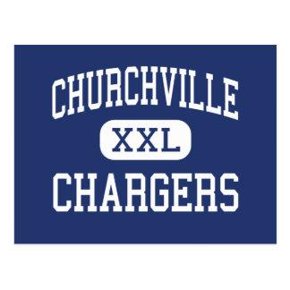 Churchville - Chargers - Junior - Elmhurst Post Card