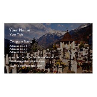 Churchyard, Dorf Tirol, (Tirolo), Alto Adige, Ital Pack Of Standard Business Cards