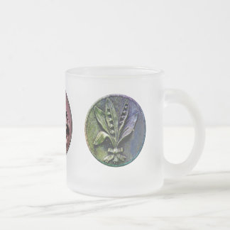 Churchyard Engravings Frosted Glass Mug