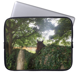 Churchyard Horse at St Day Cornwall Laptop Sleeve