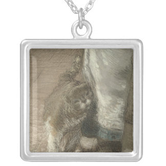 Churning Butter, 1866-68 Personalized Necklace