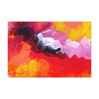 Churning Canvas Print