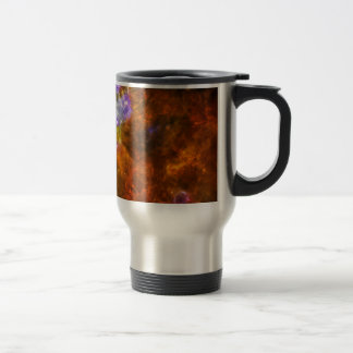 Churning Out Stars Stainless Steel Travel Mug