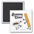 Churro & Chocolate - Buenos Dias! Magnet
