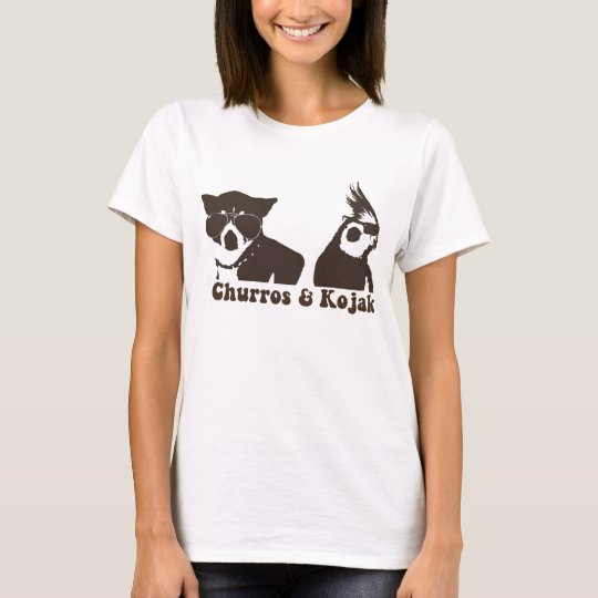 Churros and Kojak Ringer T T-Shirt