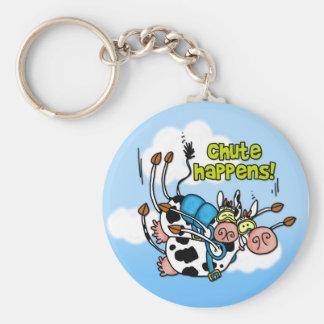 chute happens keychain