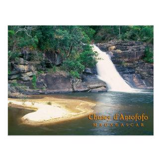 Chutes d'Antofofo, Madagascar Postcard