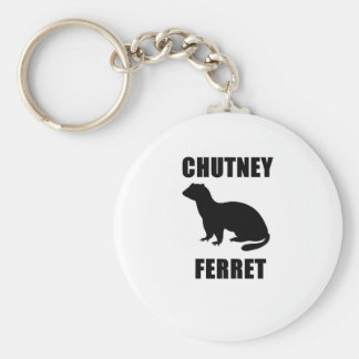 Chutney Ferret Key Ring