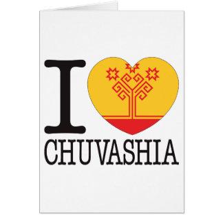 Chuvashia Love v2 Greeting Cards
