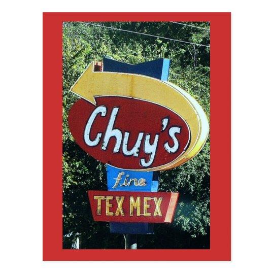 Chuy's Fine Tex Mex Postcard