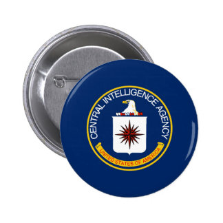 CIA Flag 6 Cm Round Badge
