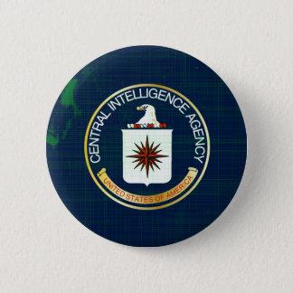 CIA Flag Grunge 6 Cm Round Badge