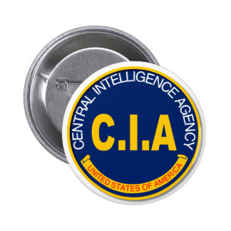 CIA Logo Mockup 6 Cm Round Badge