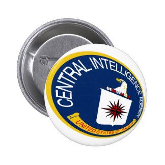 CIA Shield 6 Cm Round Badge