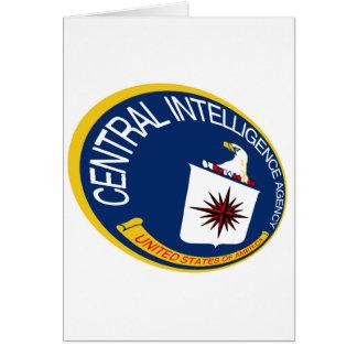 CIA Shield Greeting Card