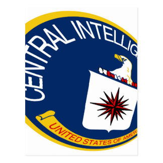 CIA Shield Postcard